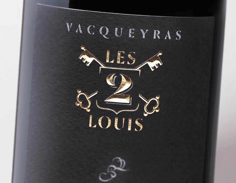 Cuvée Vacqueyras Les 2 Louis Domaine Chamfort