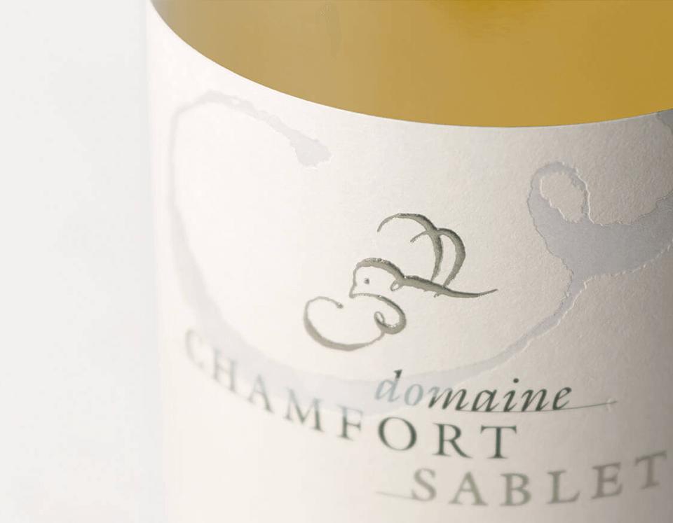 Cuvée Sablet La Pause Blanc Domaine Chamfort