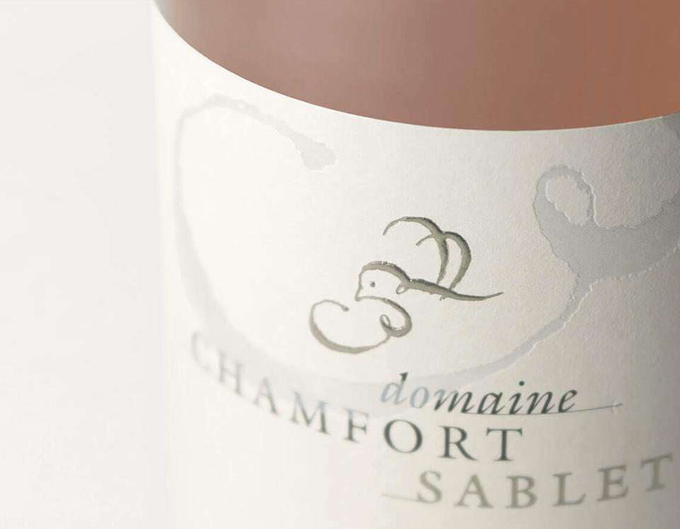 Cuvée Sablet La Pause Rosé Domaine Chamfort