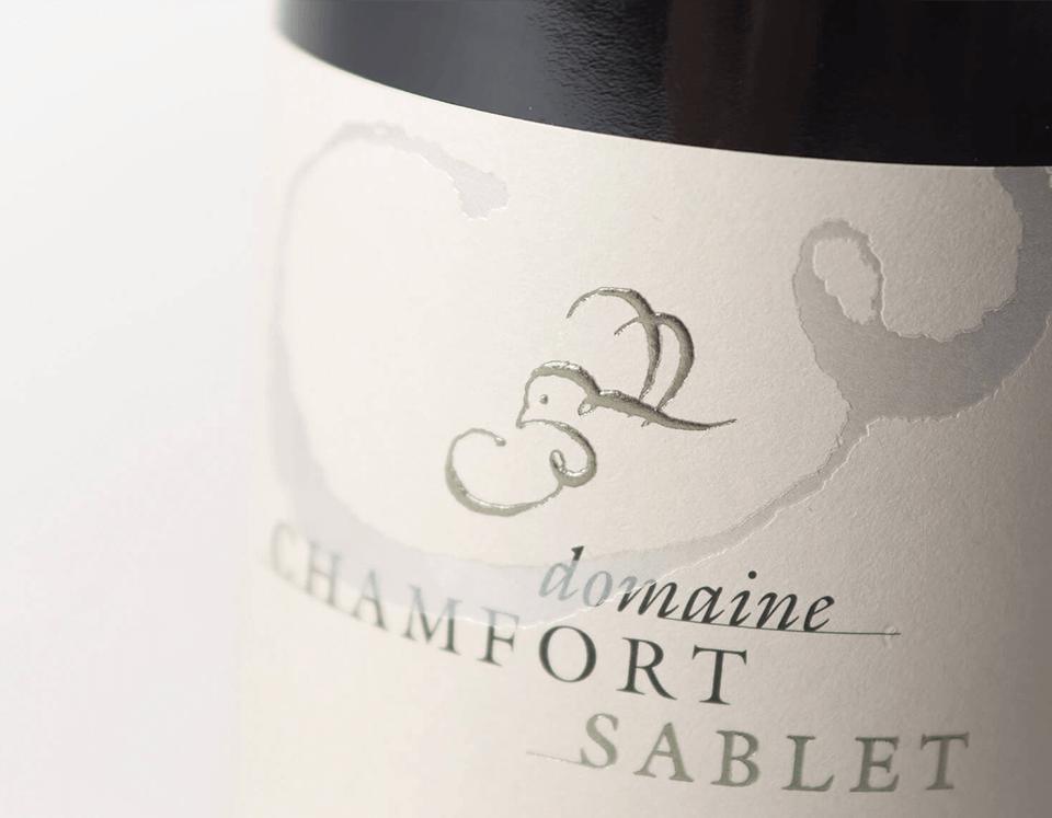 Cuvée Sablet La Pause Rouge Domaine Chamfort