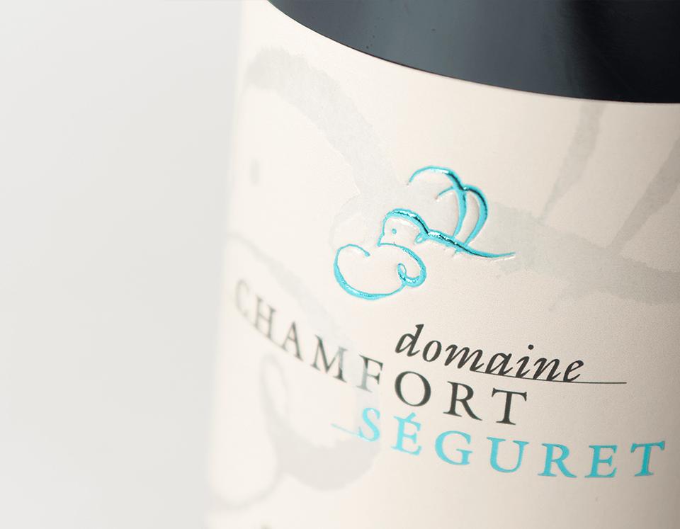 Cuvée Séguret Côté Inverse Domaine Chamfort