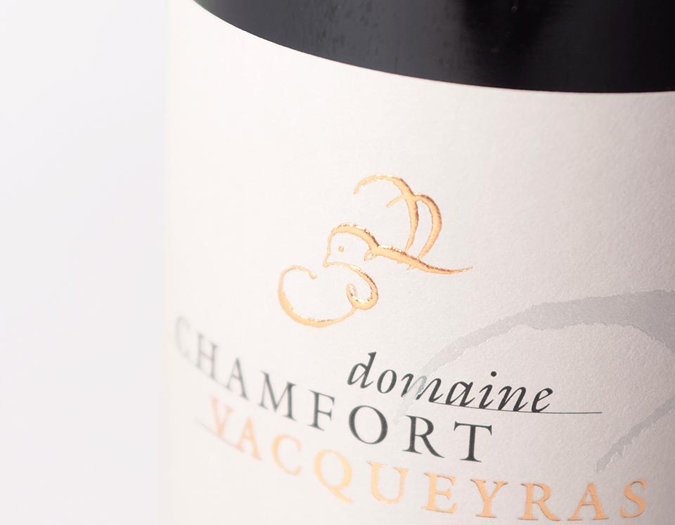 Cuvée Vacqueyras La Perdrière Domaine Chamfort