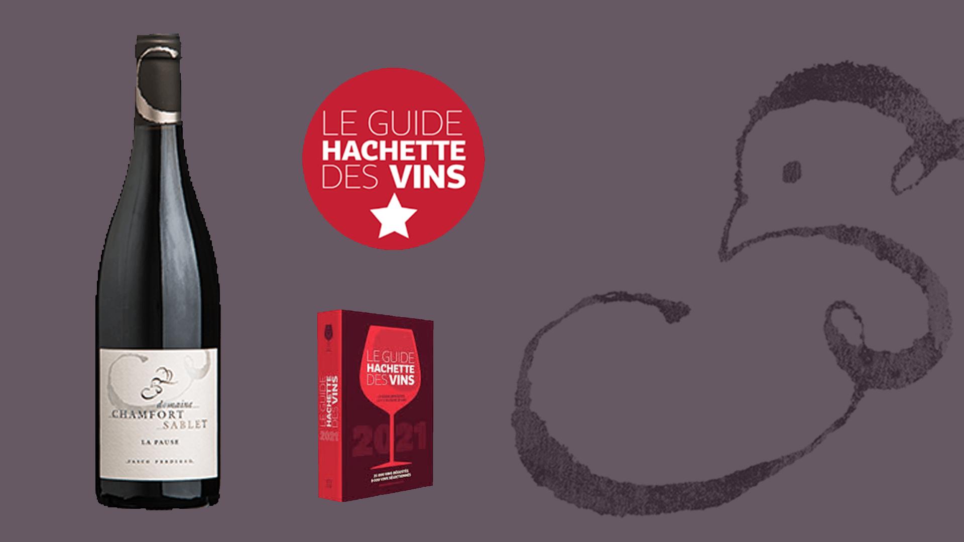 Sablet Côtes du Rhône Villages Rouge 2018 - 1-Etoile Guide Hachette