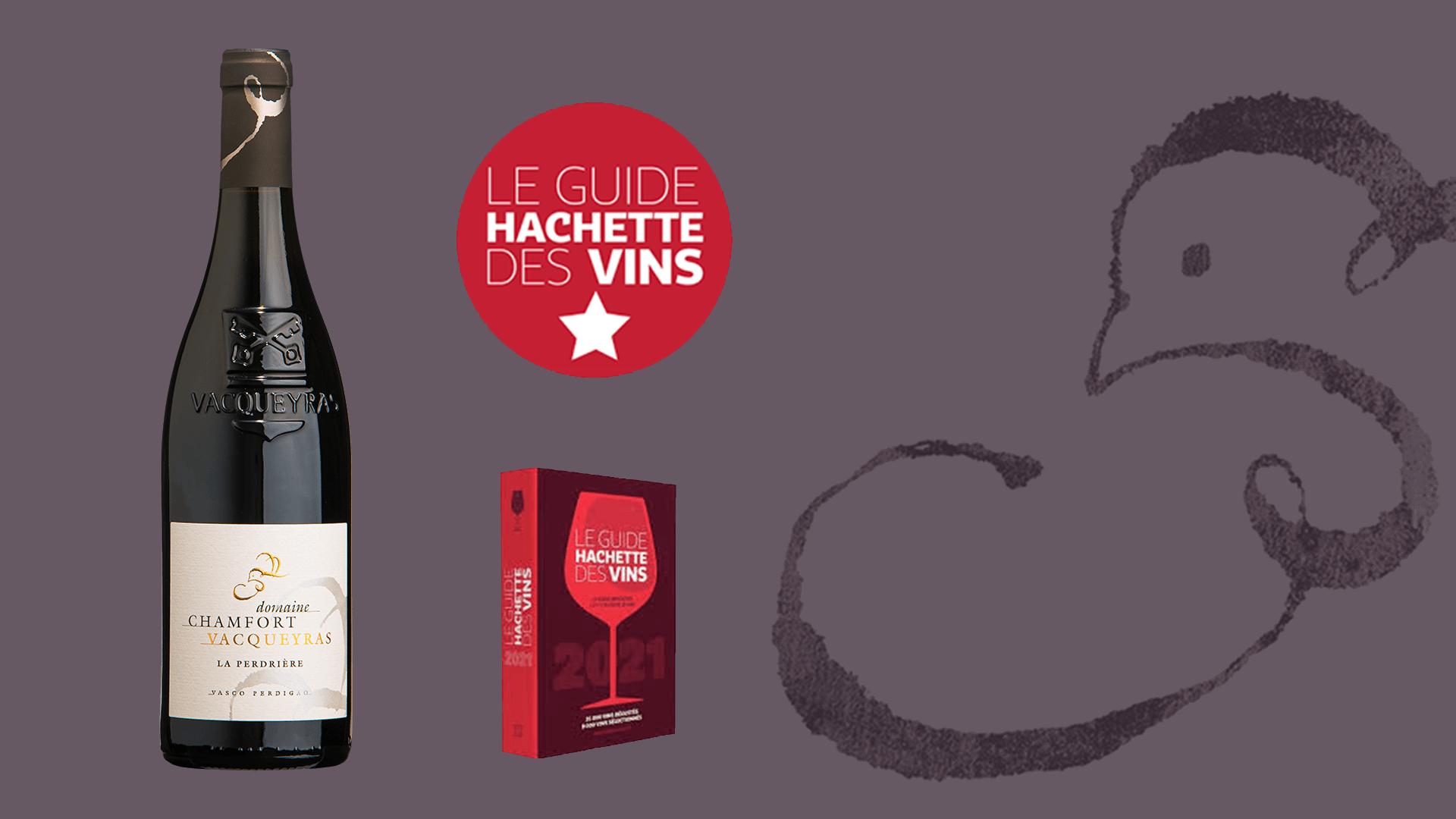Vacqueyras La Perdrière 2017 - 1-Etoile Guide Hachette